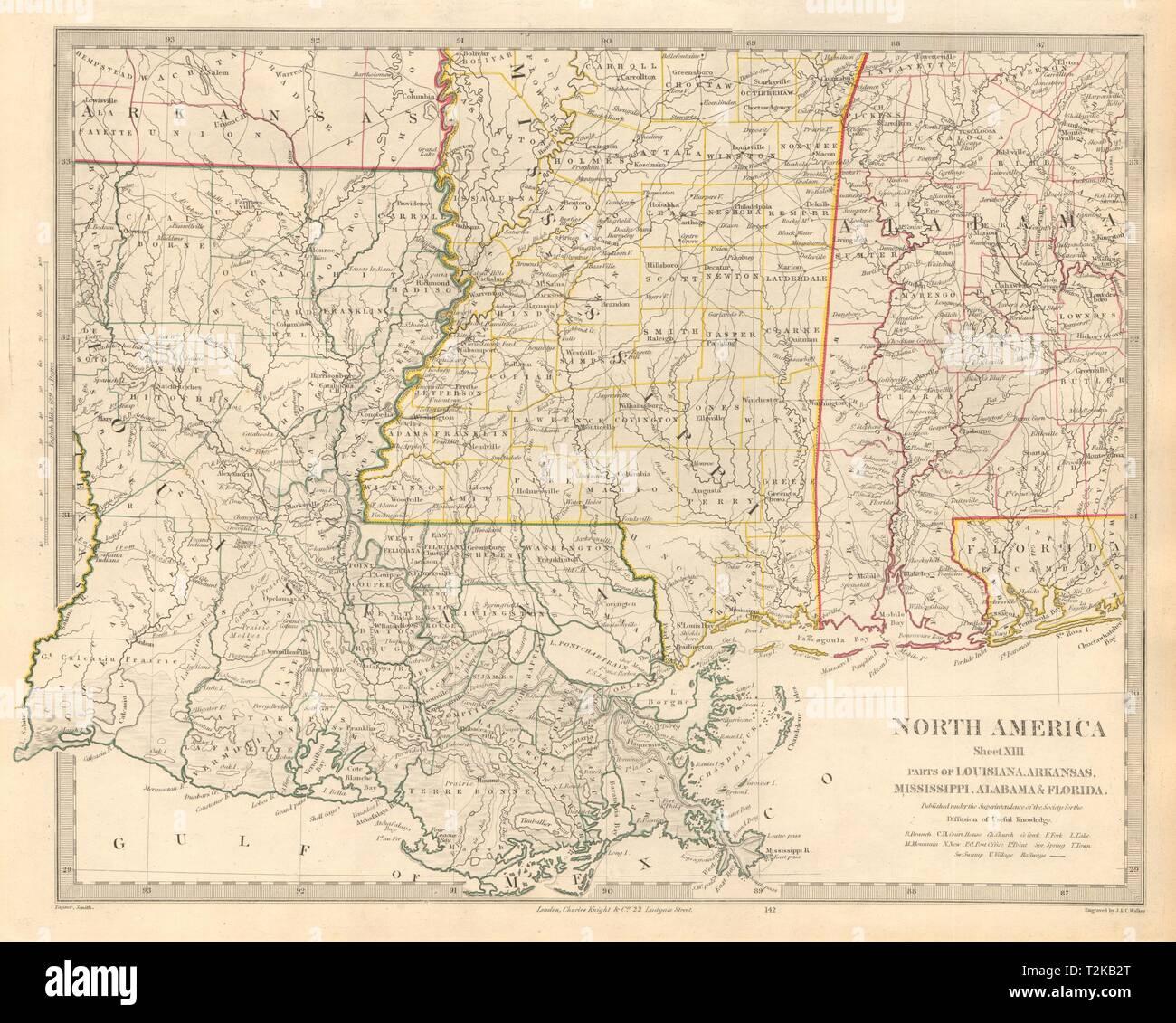 US GULF COAST. Louisiana Mississippi Alabama Florida ...