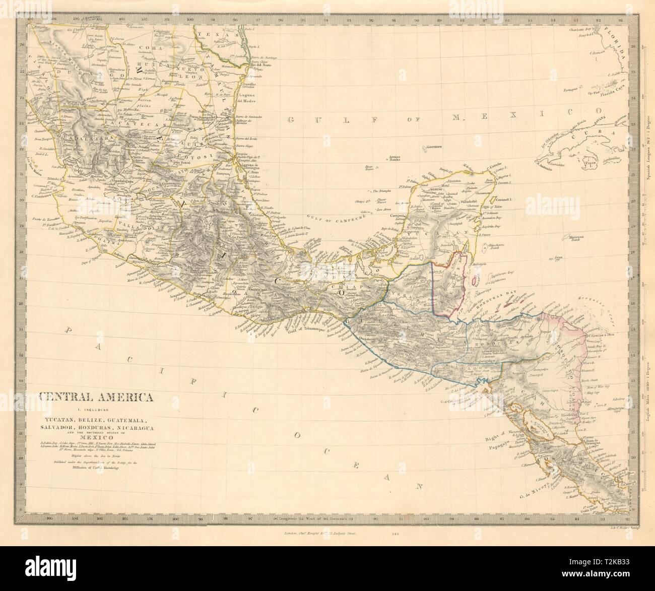 SOUTHERN MEXICO & CENTRAL AMERICA. Yucatan Belize Mosquito ...