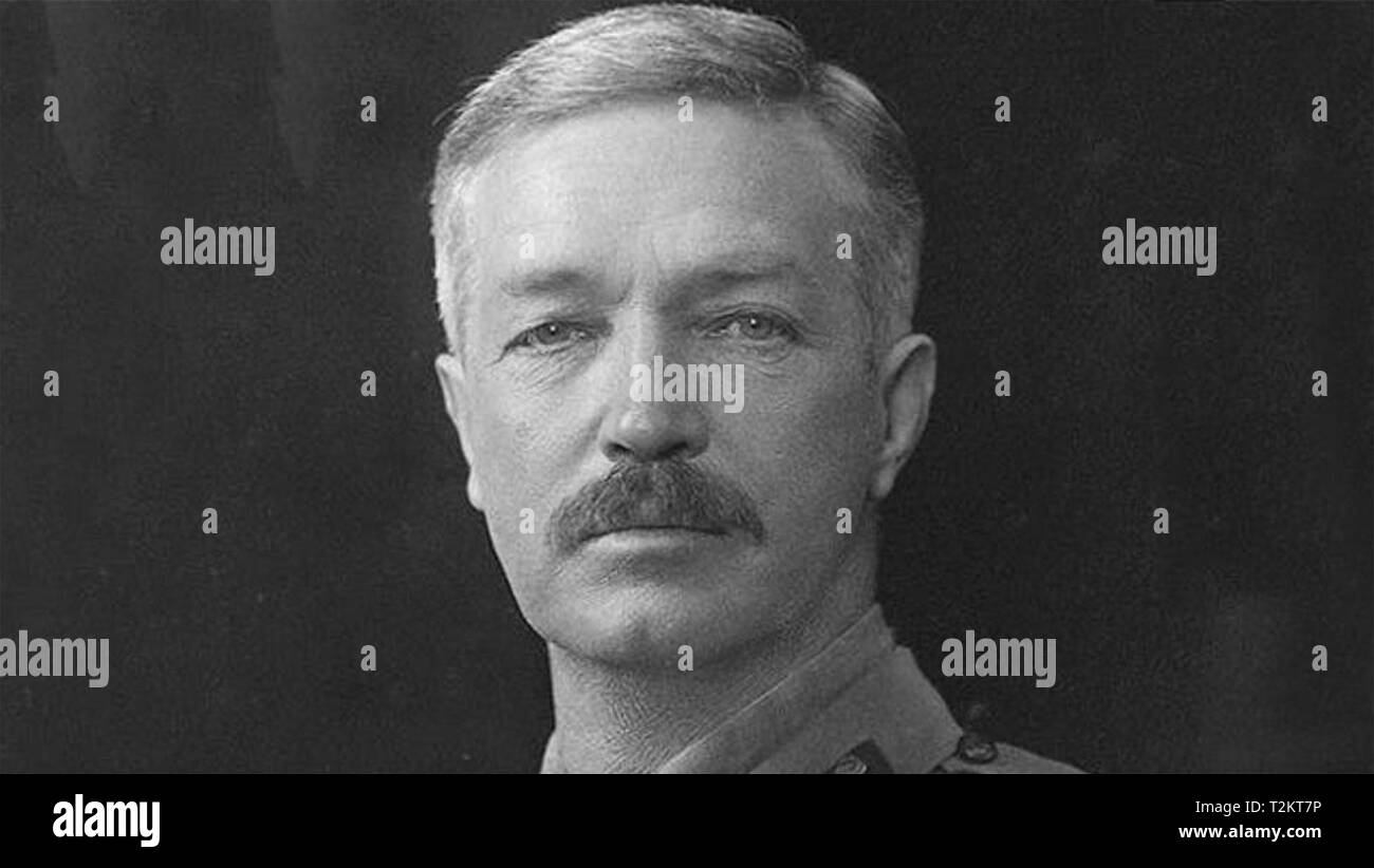 REGINALD DYER (1864-1927) British Indian Army officer responsible for the Amritsar Massacre - Stock Image