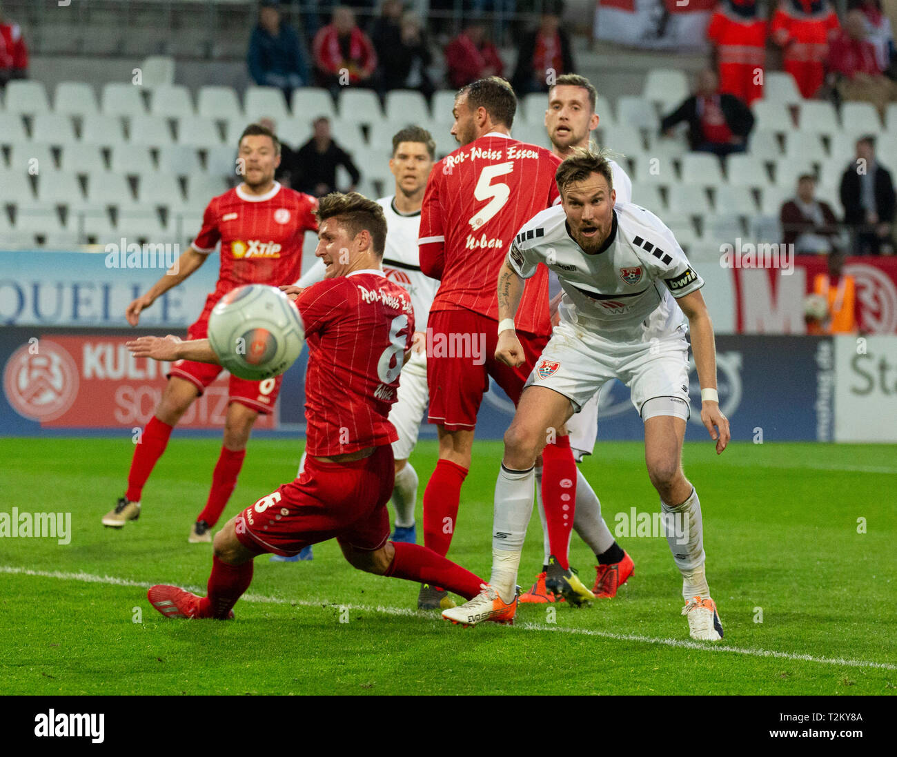 Sports Football Lower Rhine Cup 2018 2019 Semifinal Rot