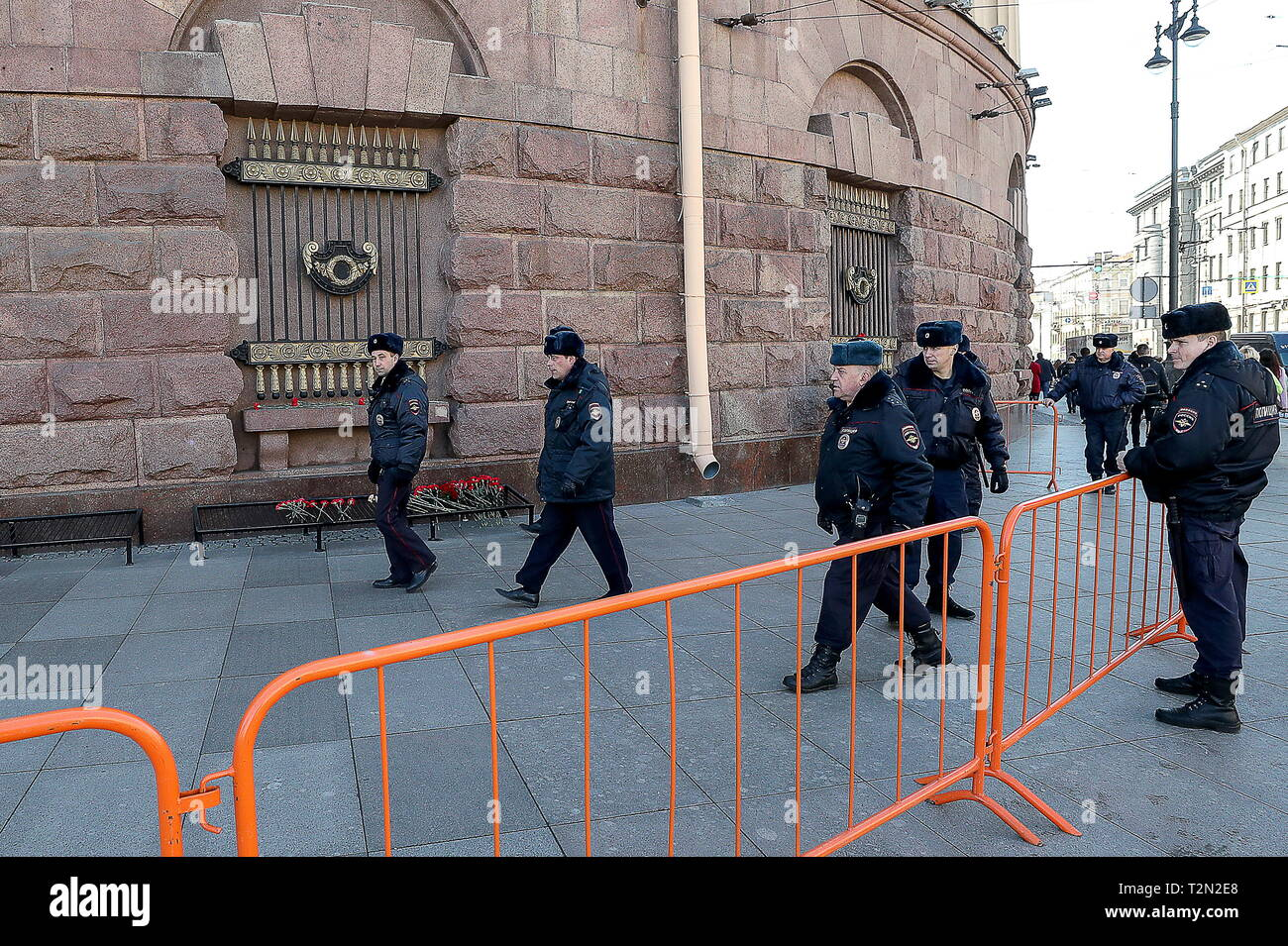 Crowd Control Barriers Stock Photos & Crowd Control Barriers