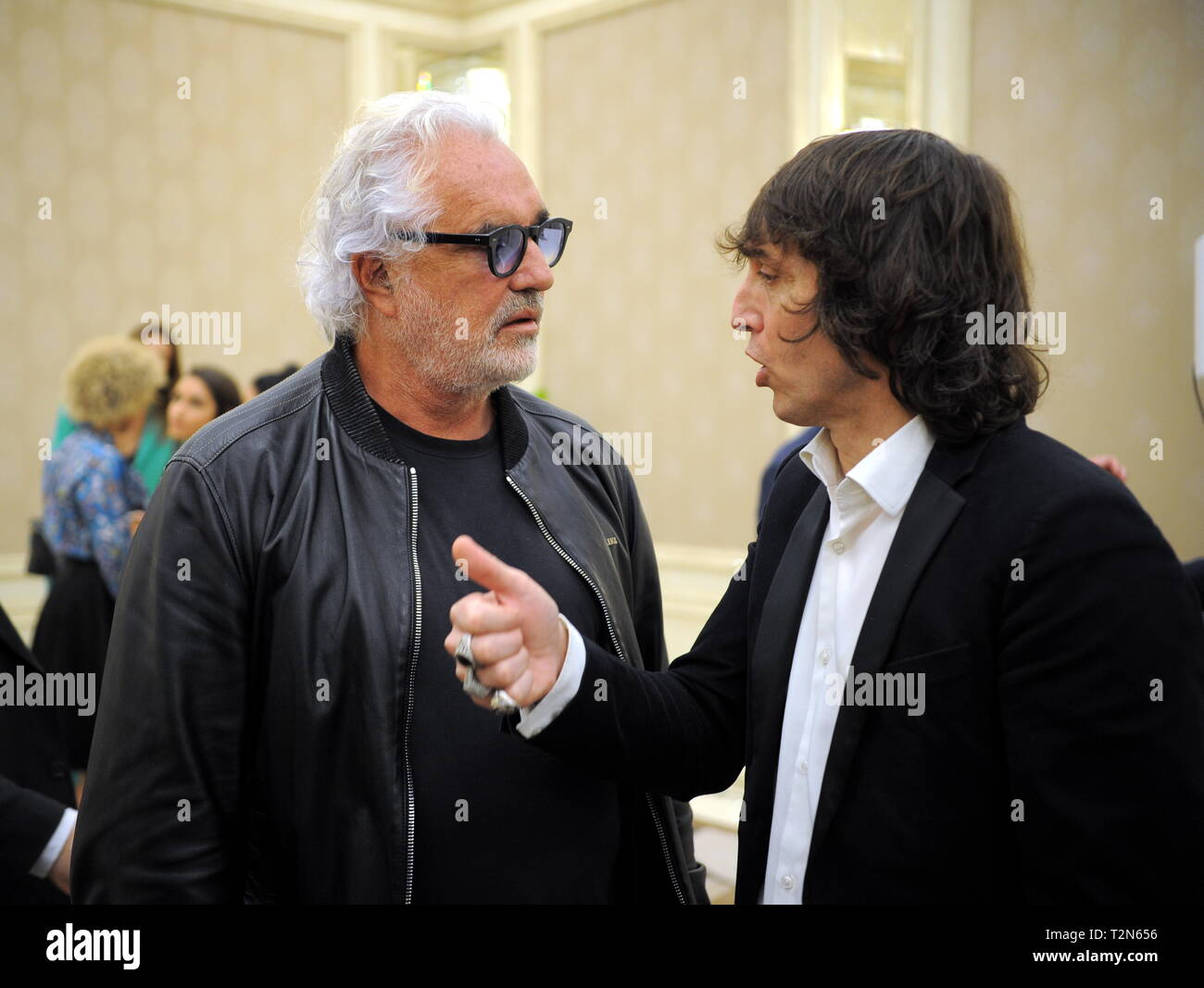 quality design 098e8 9ef5a Milan, Award and journalism in the photo Flavio Briatore and ...