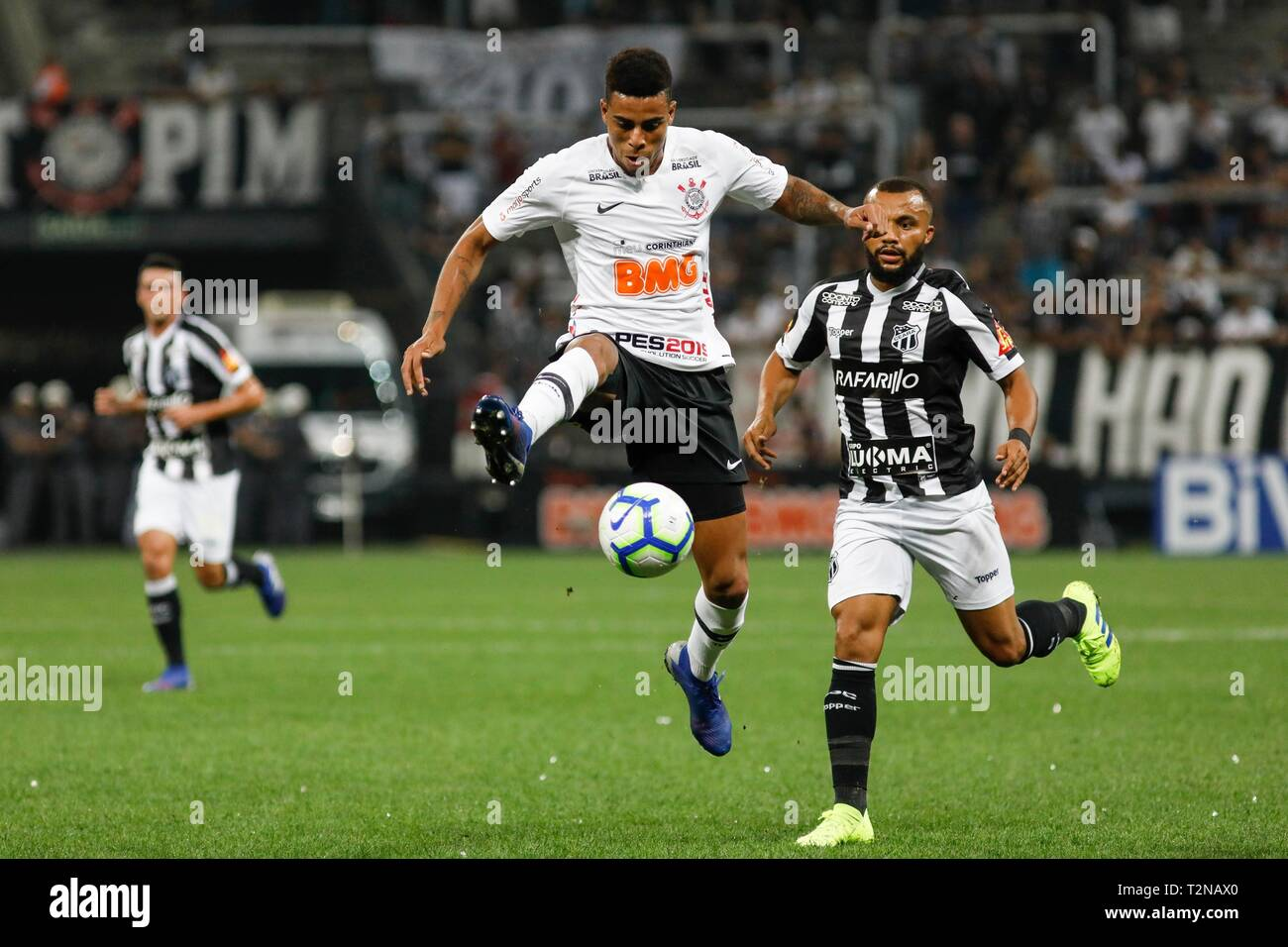 Sao Paulo Sp 03 04 2019 Corinthians X Ceara Gustavo During The Match Between Corinthians And Ceara
