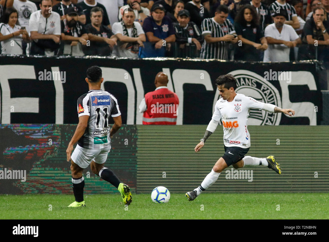 Sao Paulo Sp 03 04 2019 Corinthians X Ceara Fagner During The Match Between Corinthians And Ceara Held At The Corinthians Arena East Zone Of Sao Paulo The Match Is Valid For