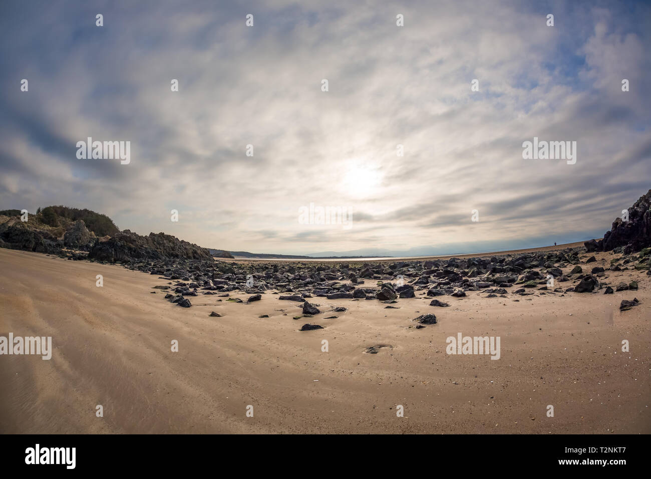 Beach landscape - Stock Image