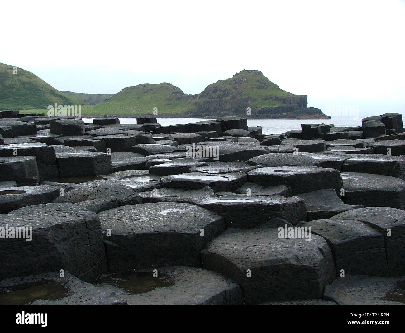 Giant's Causeway, Bushmills Stock Photo