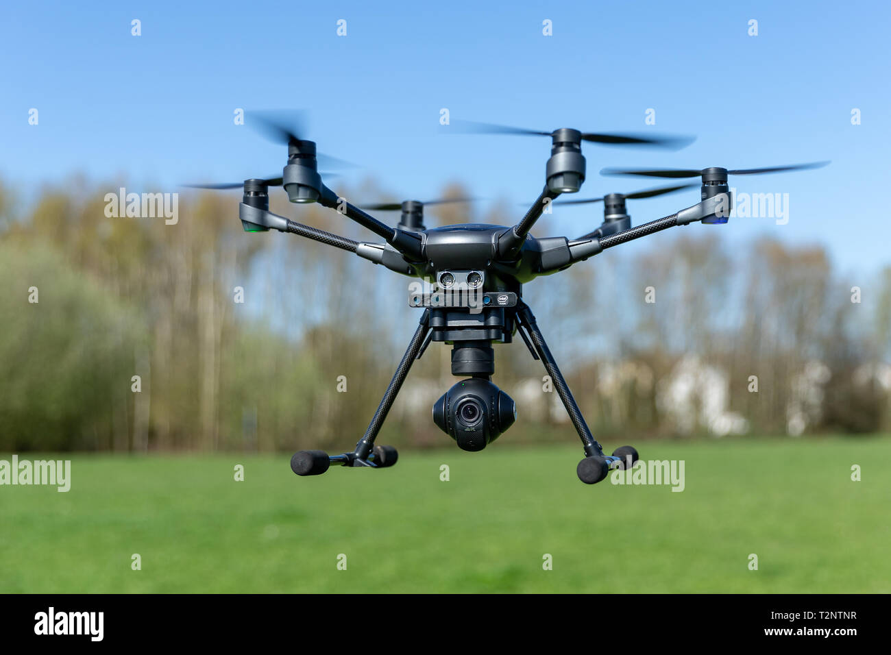 Drohne Yuneec Typhoon H, 01.04.2019  Foto: Mario Hommes Stock Photo