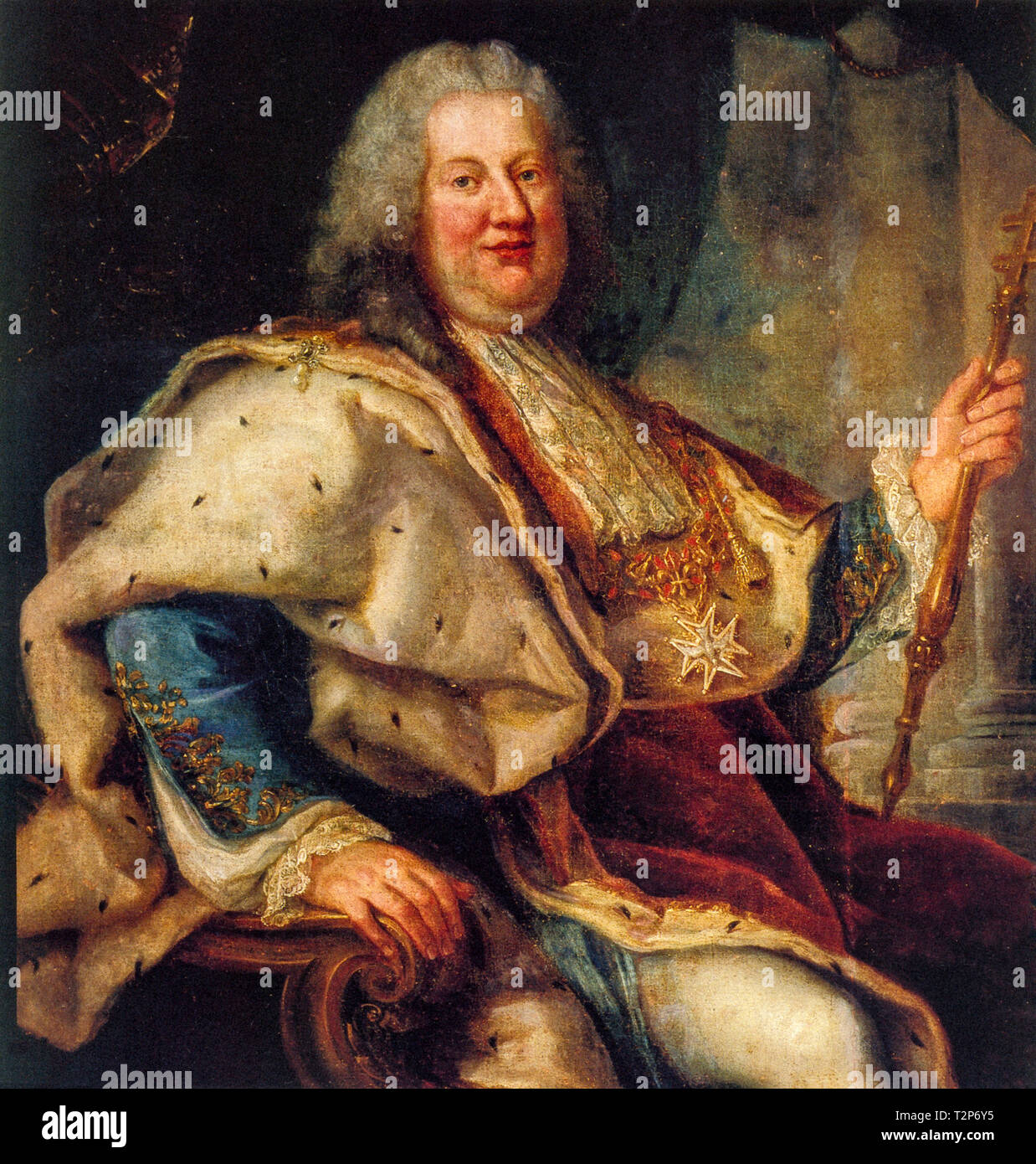 Stanislaus I Leszczynski, also known as Stanislaw Boguslaw Leszczynski (Lviv, 20 October 1677 -  Lunéville, 23 February 1766), was a Polish nobleman, became king of Poland and grand duke of Lithuania, first (1704 - 1709) during the Great War of North, then again (1733 - 1736) - Stock Image