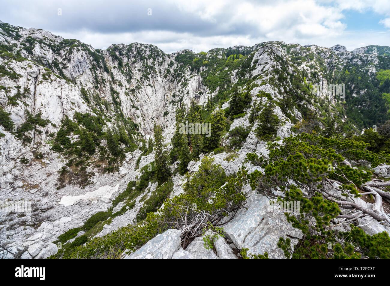 National park Sjeverni Velebit, Croatia Stock Photo