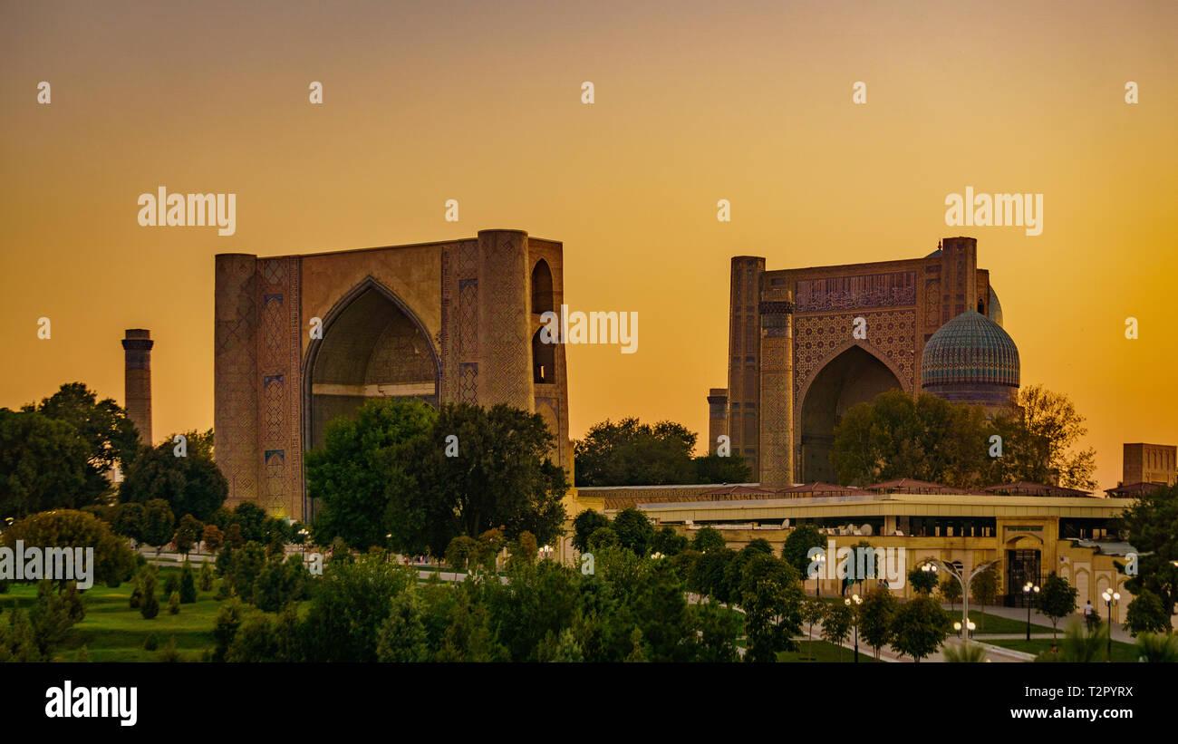 Samarkand in Uzbekistan - Stock Image