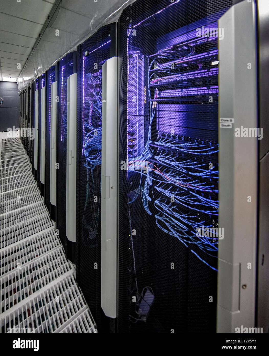 Computing Center - Stock Image