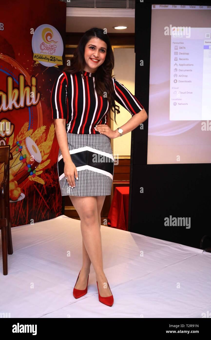 New Delhi, India  03rd Apr, 2019  Bollywood actress Manara