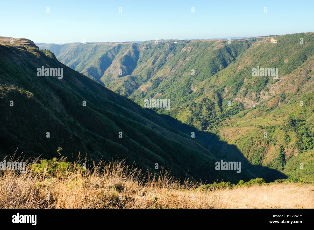 Mountains and valleys of the Khasi Hills, Meghalaya
