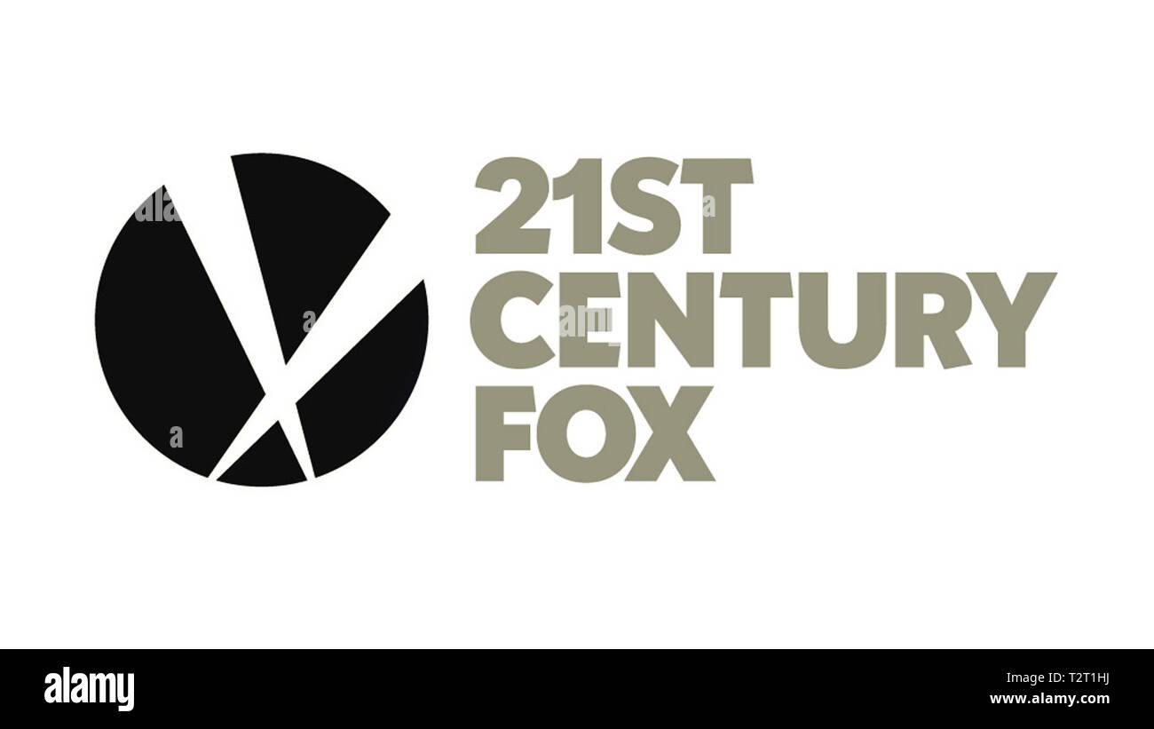 21ST CENTURY FOX TWENTY-FIRST CENTURY FOX, INC. Logo entreprise americain de media Prod DB © 21st Century Fox / DR - Stock Image