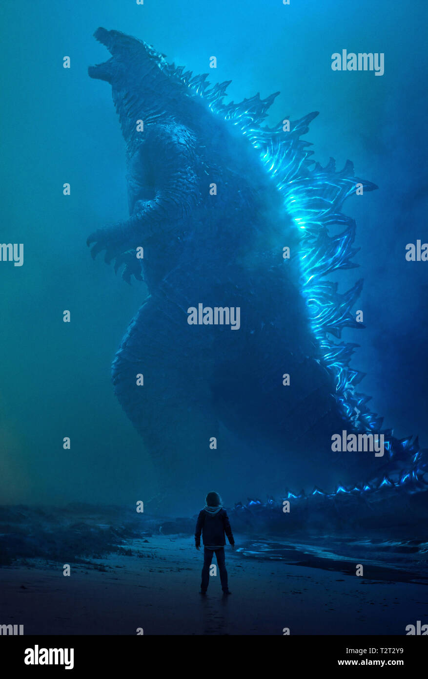 GODZILLA II: LE ROI DES MONSTRES GODZILLA: KING OF THE MONSTERS 2019 de Michael Dougherty visuel d'affiche science-fiction; sci-fi; Prod DB © Warner B - Stock Image