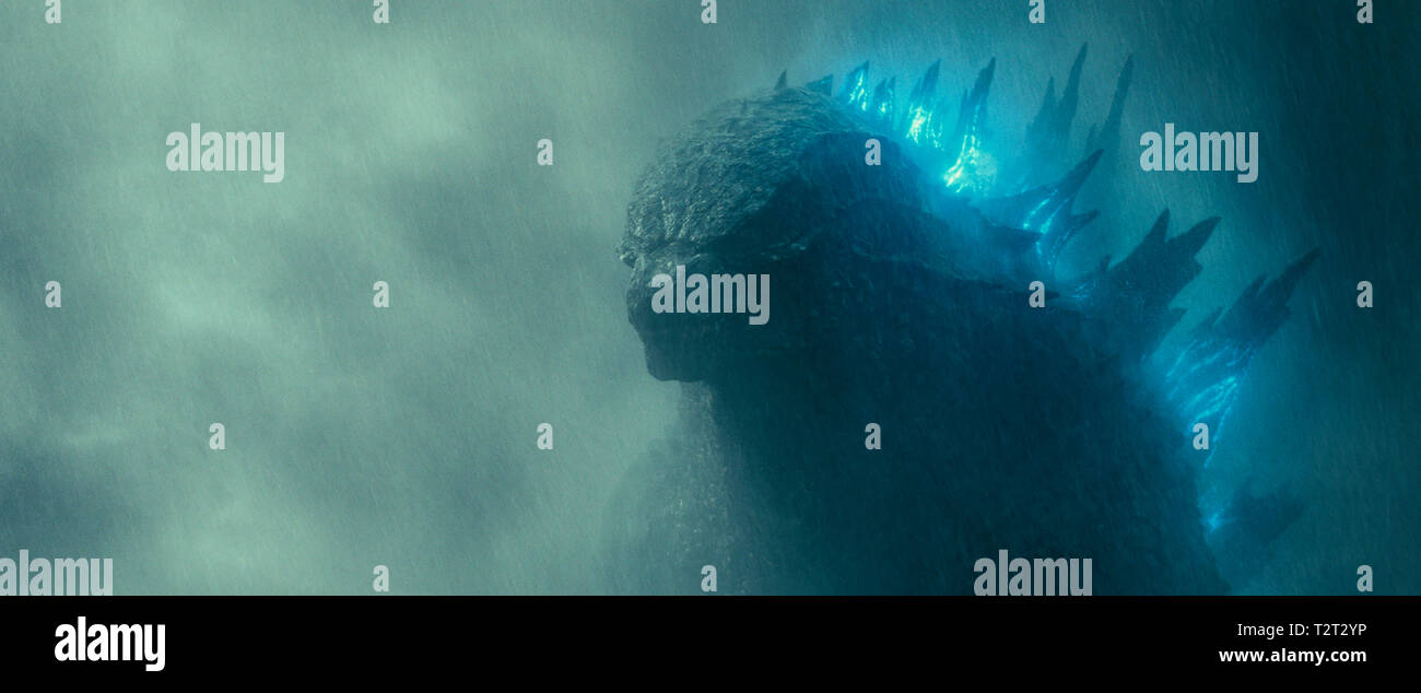 GODZILLA II: LE ROI DES MONSTRES GODZILLA: KING OF THE MONSTERS 2019 de Michael Dougherty science-fiction; sci-fi; Prod DB © Warner Bros. - Legendary - Stock Image