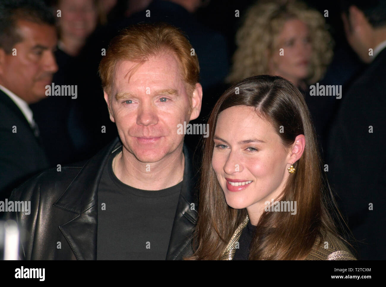 LOS ANGELES, CA. December 04, 2000: Actor DAVID CARUSO & wife MARGARET at the Los Angeles premiere of his new movie Proof of Life. © Paul Smith / Featureflash Stock Photo
