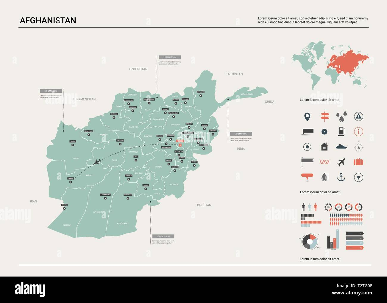 Vector map of Afghanistan . High detailed country map with division on pyongyang on world map, kolkata world map, sydney world map, algiers world map, new delhi world map, jakarta world map, khartoum world map, novosibirsk world map, kathmandu world map, yerevan world map, buenos aires world map, cairo world map, damascus world map, herat world map, riyadh world map, baku on world map, samarkand world map, lima world map, tehran world map, rabat world map,