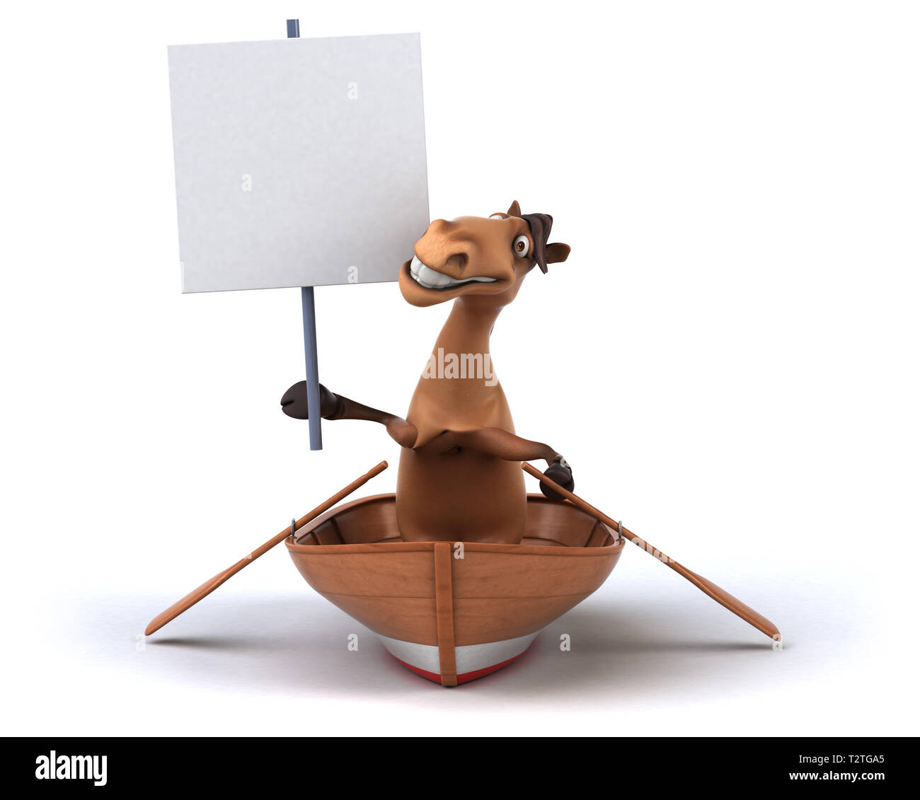 Fun horse - Stock Image