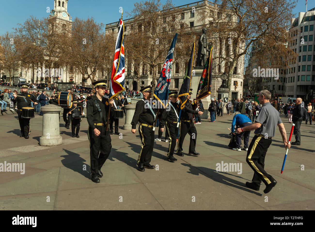 Brexit means Brexit march (London, March 2019) - Stock Image