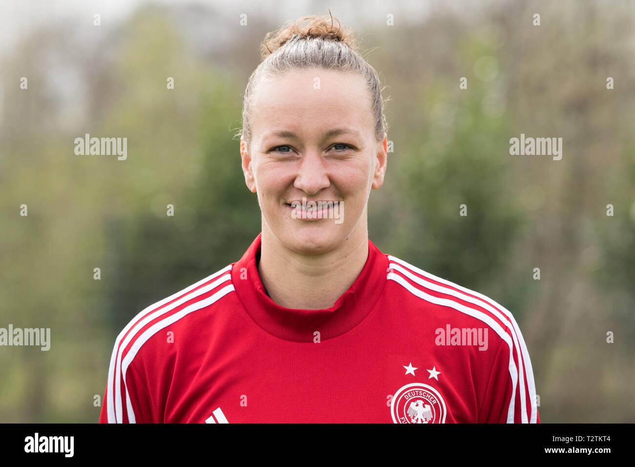 Marienfeld Deutschland 04th Apr 2019 Goalkeeper Almuth