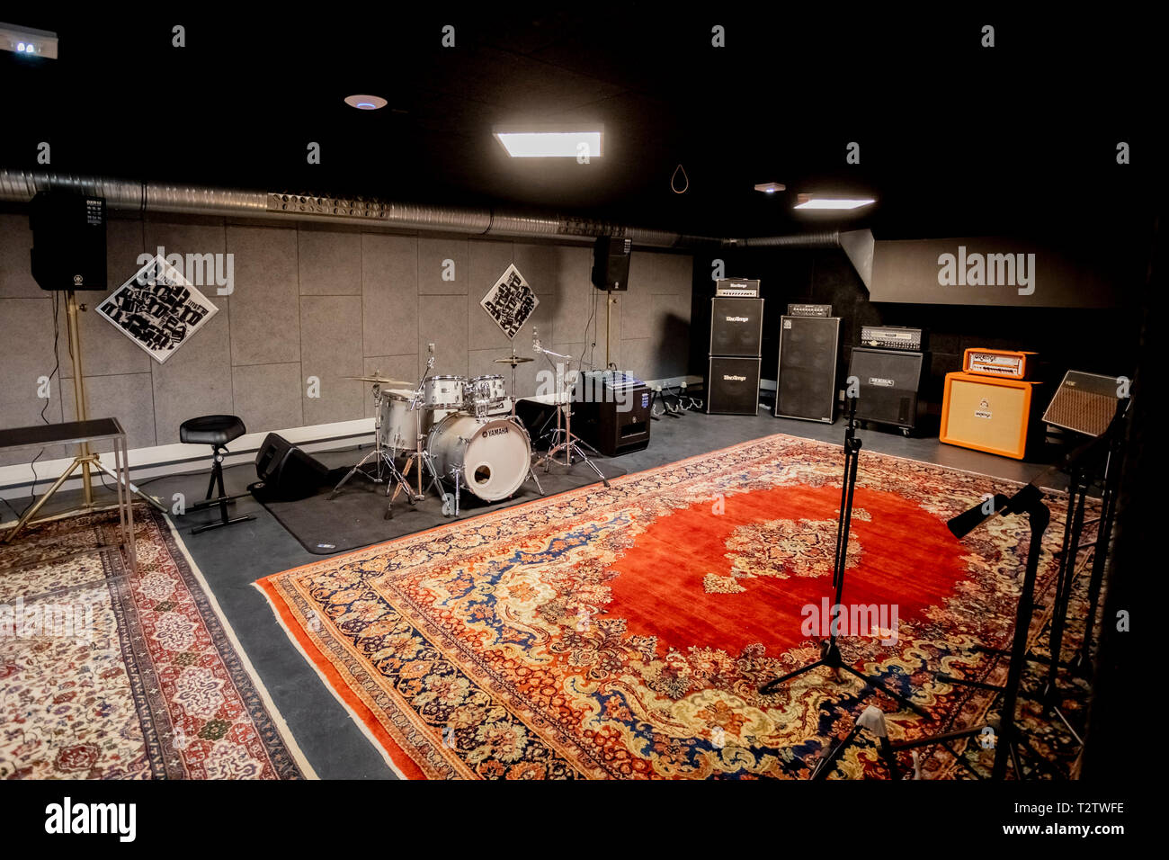 Music Rehearsal Room High Resolution Stock Photography And Images Alamy