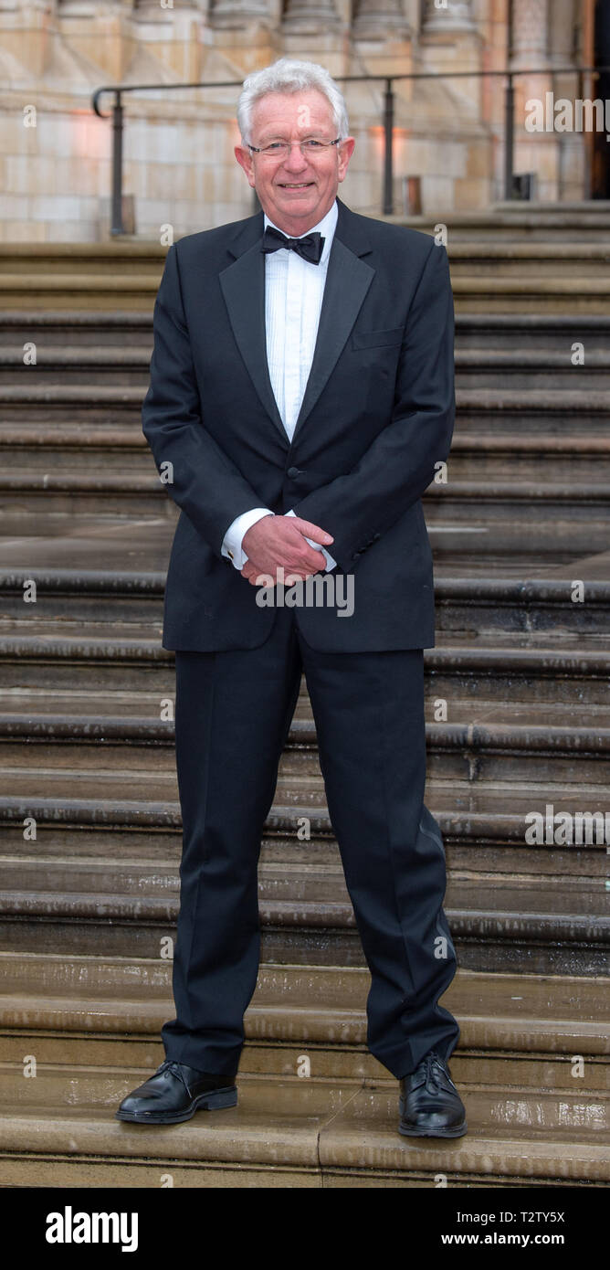 London, United Kingdom. 4 April 2019. Keith Scholey arrives at the global premiere of 'Our Planet' presented by Netflix. Credit: Peter Manning/Alamy Live News - Stock Image