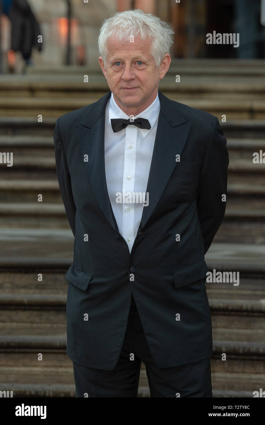 London, United Kingdom. 4 April 2019. Richard Curtis attends the global premiere of 'Our Planet' presented by Netflix. Credit: Peter Manning/Alamy Live News Stock Photo