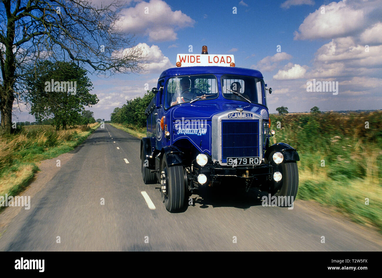 1950's Scammell Highwayman tractor unit. - Stock Image