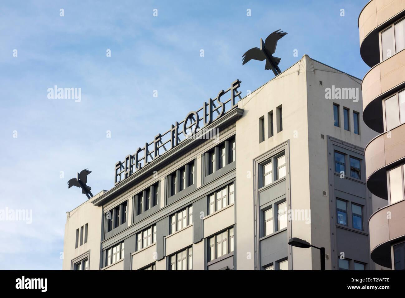 Art Deco Eagle Stock Photos & Art Deco Eagle Stock Images