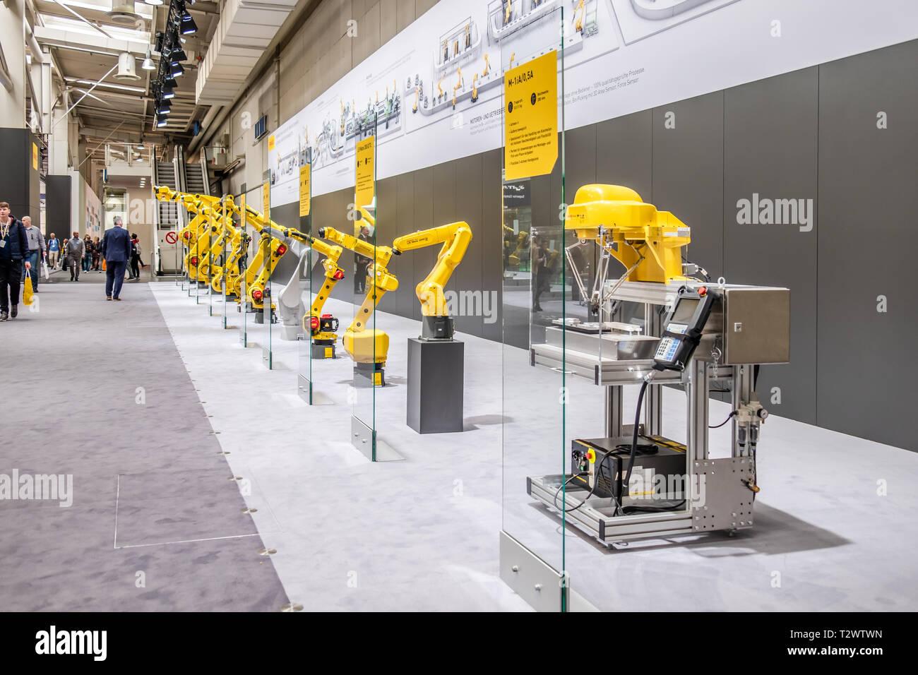 Fanuc Robotics Stock Photos & Fanuc Robotics Stock Images