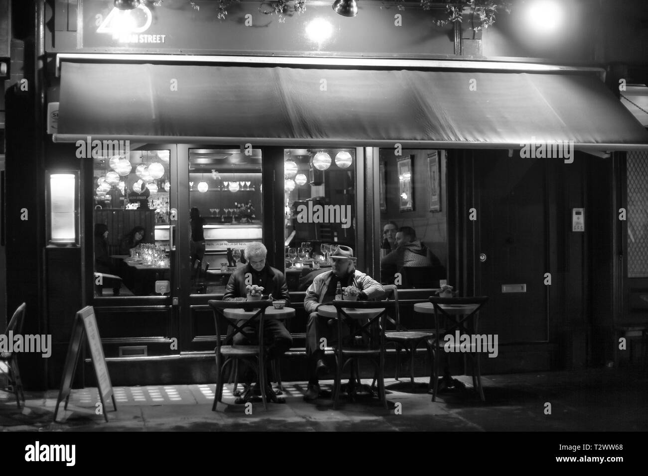 Dean Street coffee shop - Stock Image