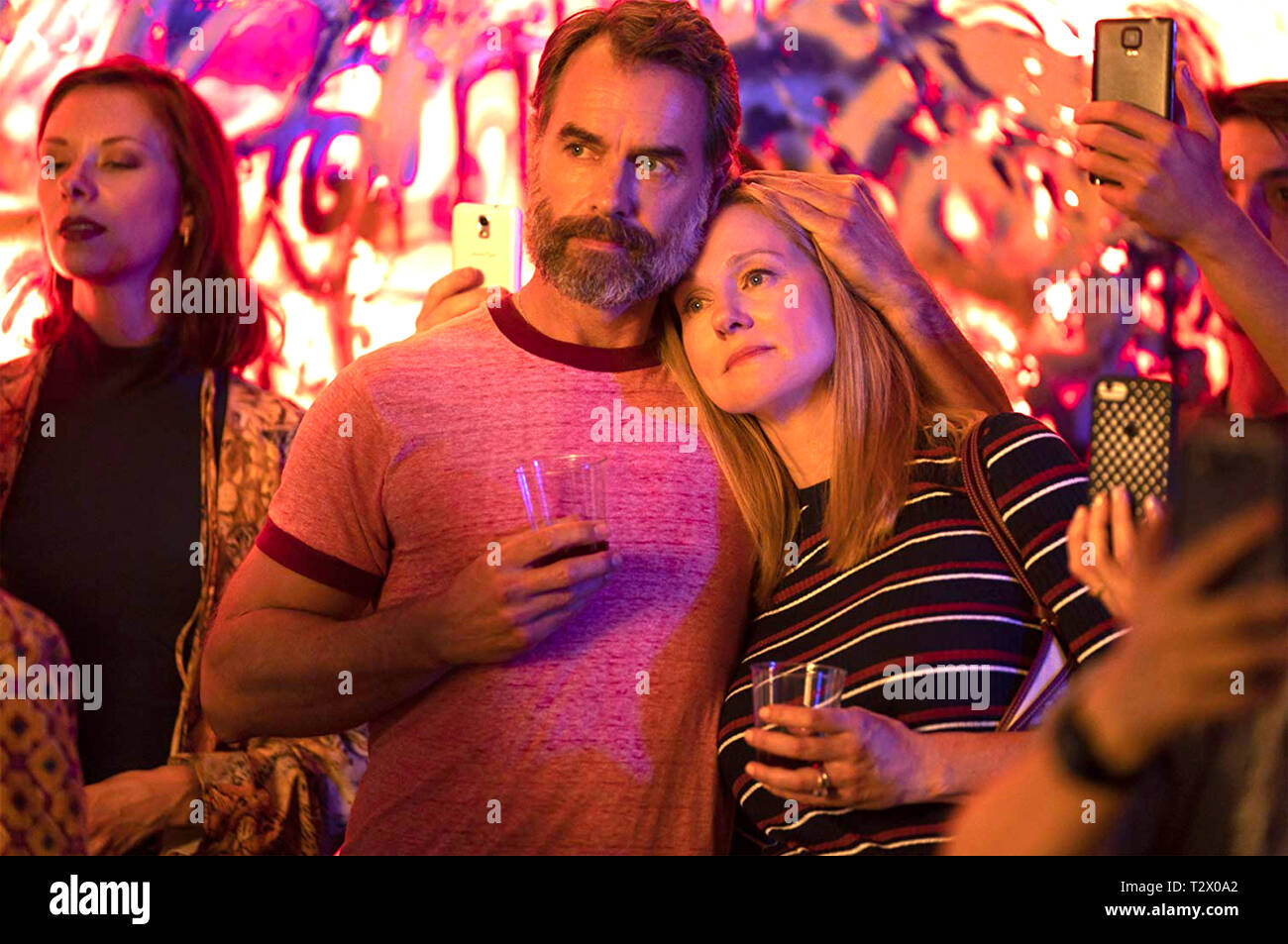 TALES OF THE CITY 2019 Netflix production with Laura Linney and Murray Bartlett - Stock Image