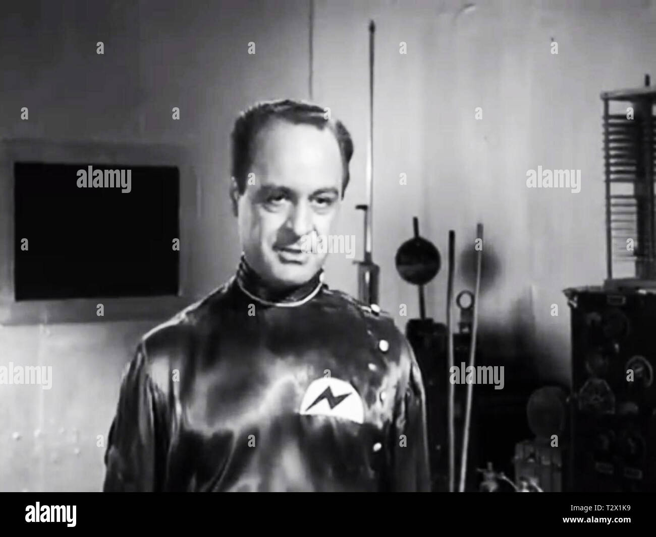 Screenshot of the Aliens from Plan 9 From outer Space Stock Photo
