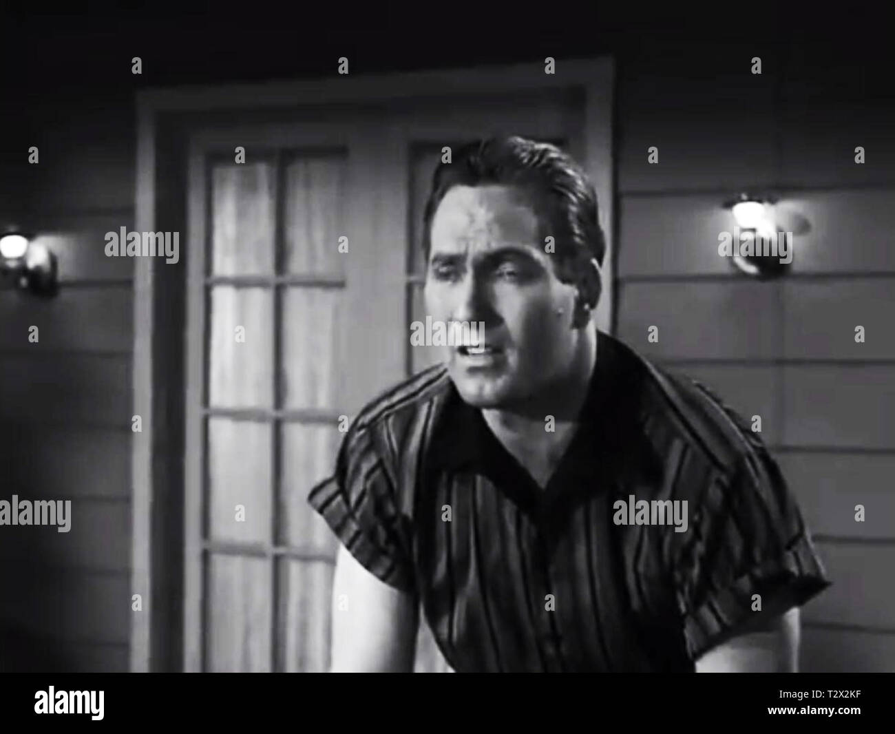 The Heroes of Plan 9 From Outer Space - Stock Image