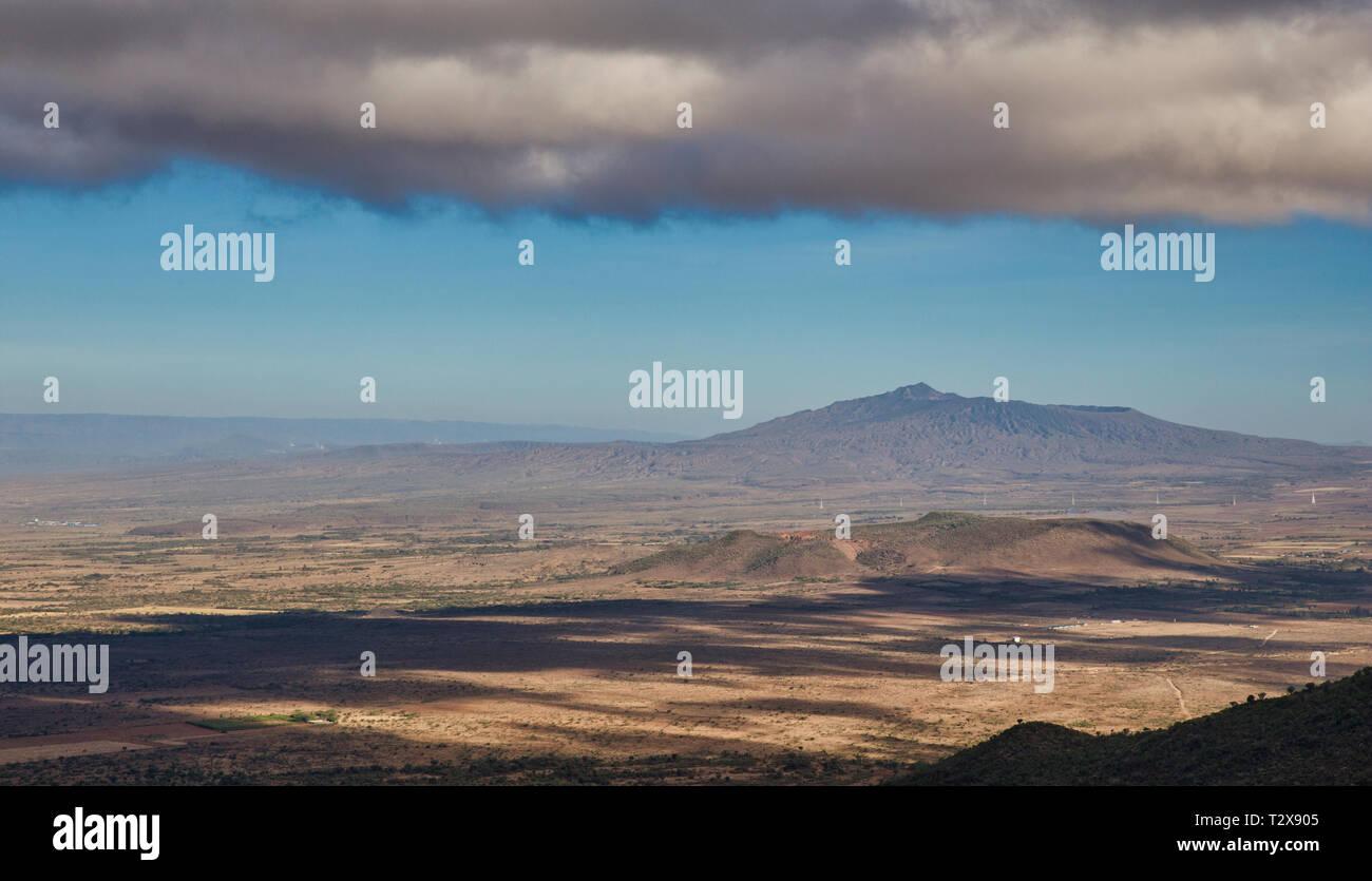 Greate Rift Valley Kenya Stock Photo