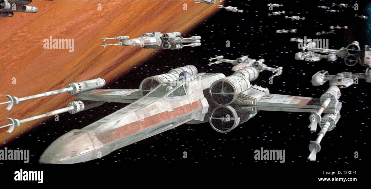 x wing fighter star wars episode iv a new hope 1977 T2XCF1