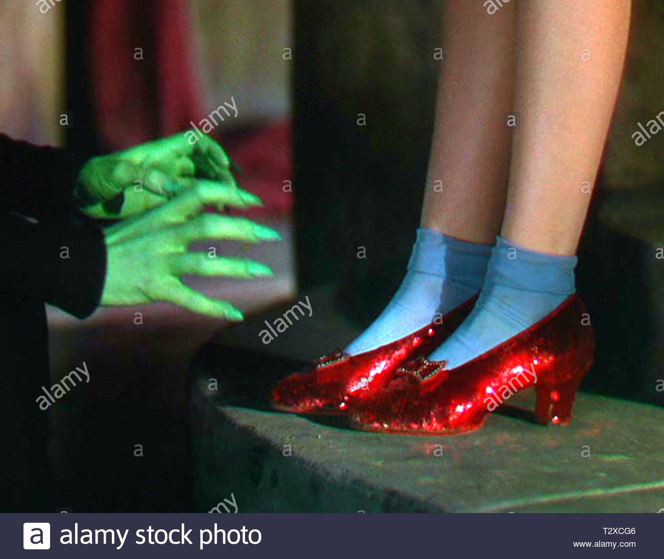 d55662c9305 Ruby Slippers Stock Photos   Ruby Slippers Stock Images - Alamy