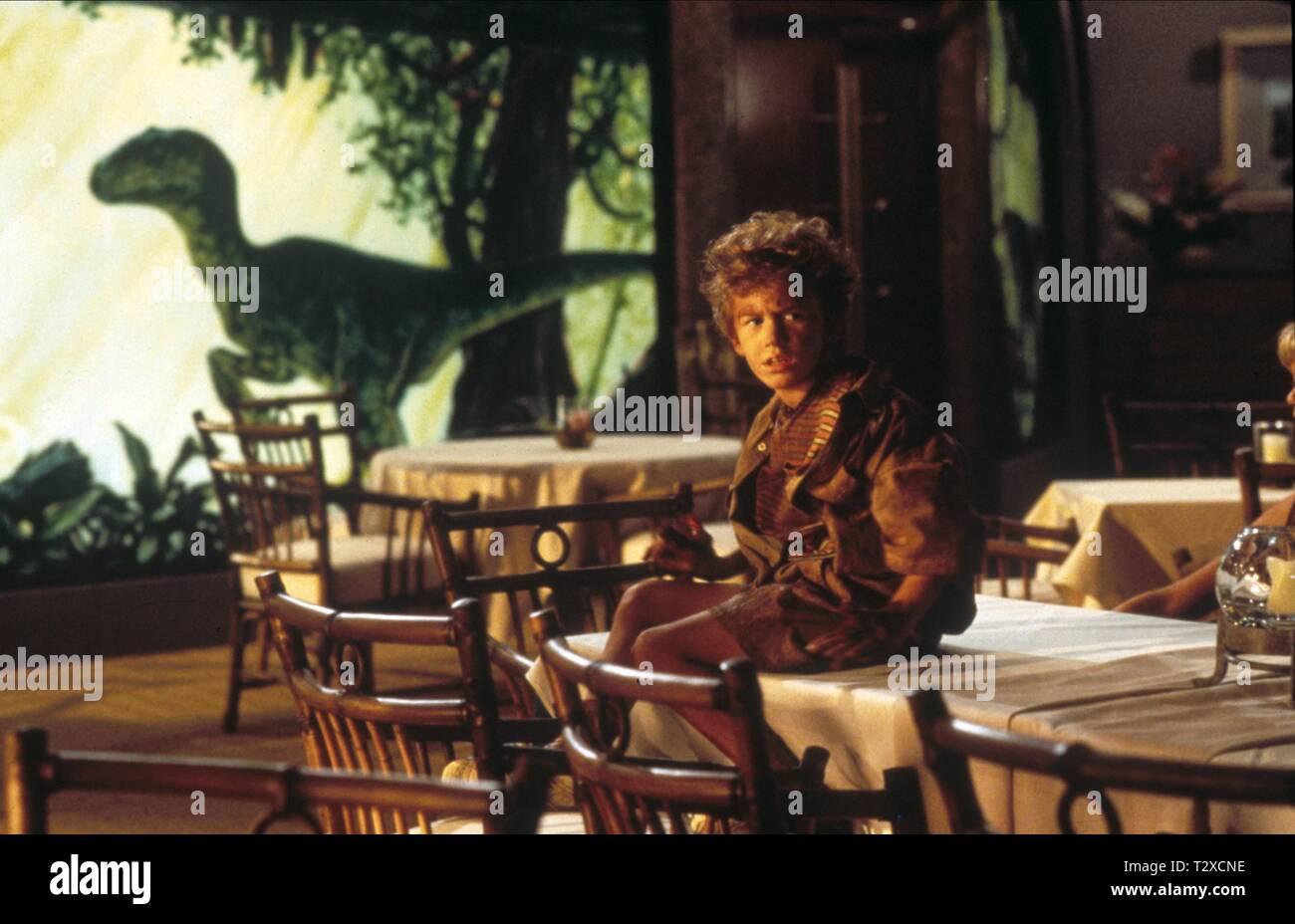 JOSEPH MAZZELLO, JURASSIC PARK, 1993 - Stock Image