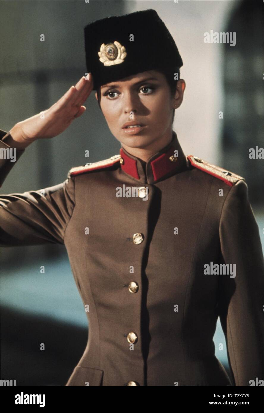 BARBARA BACH,  THE SPY WHO LOVED ME, 1977 - Stock Image