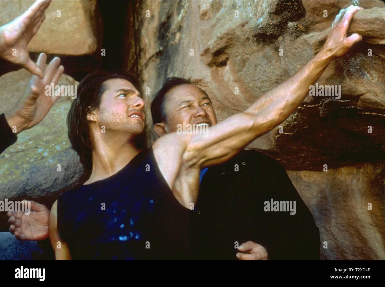 Tom Cruise John Woo Mission Impossible Ii 2000 Stock Photo Alamy