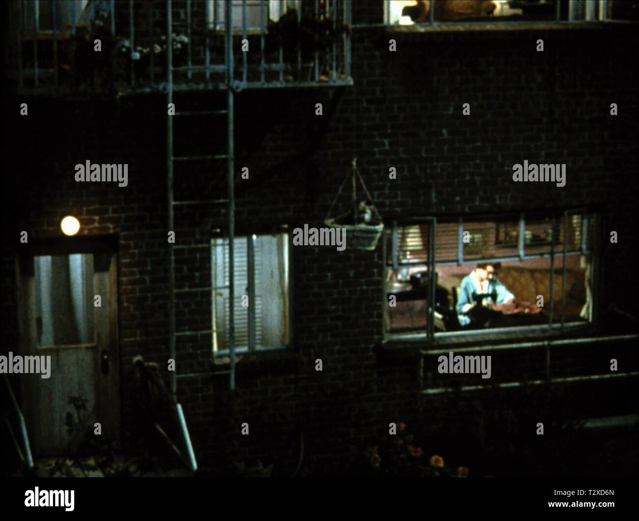 JUDITH EVELYN, REAR WINDOW, 1954 - Stock Image