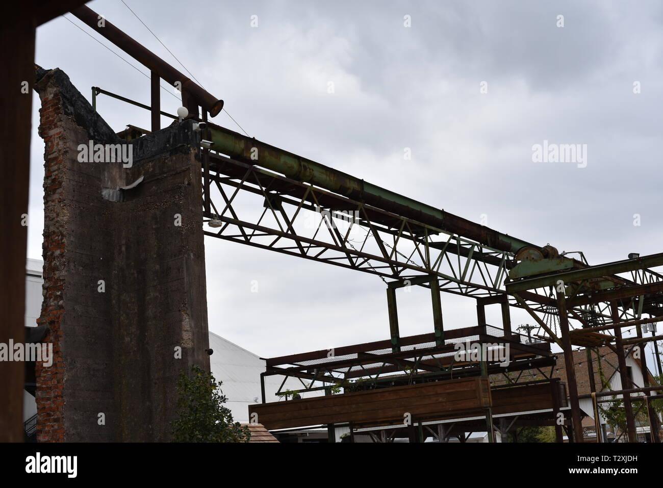 Grain Mill - Stock Image