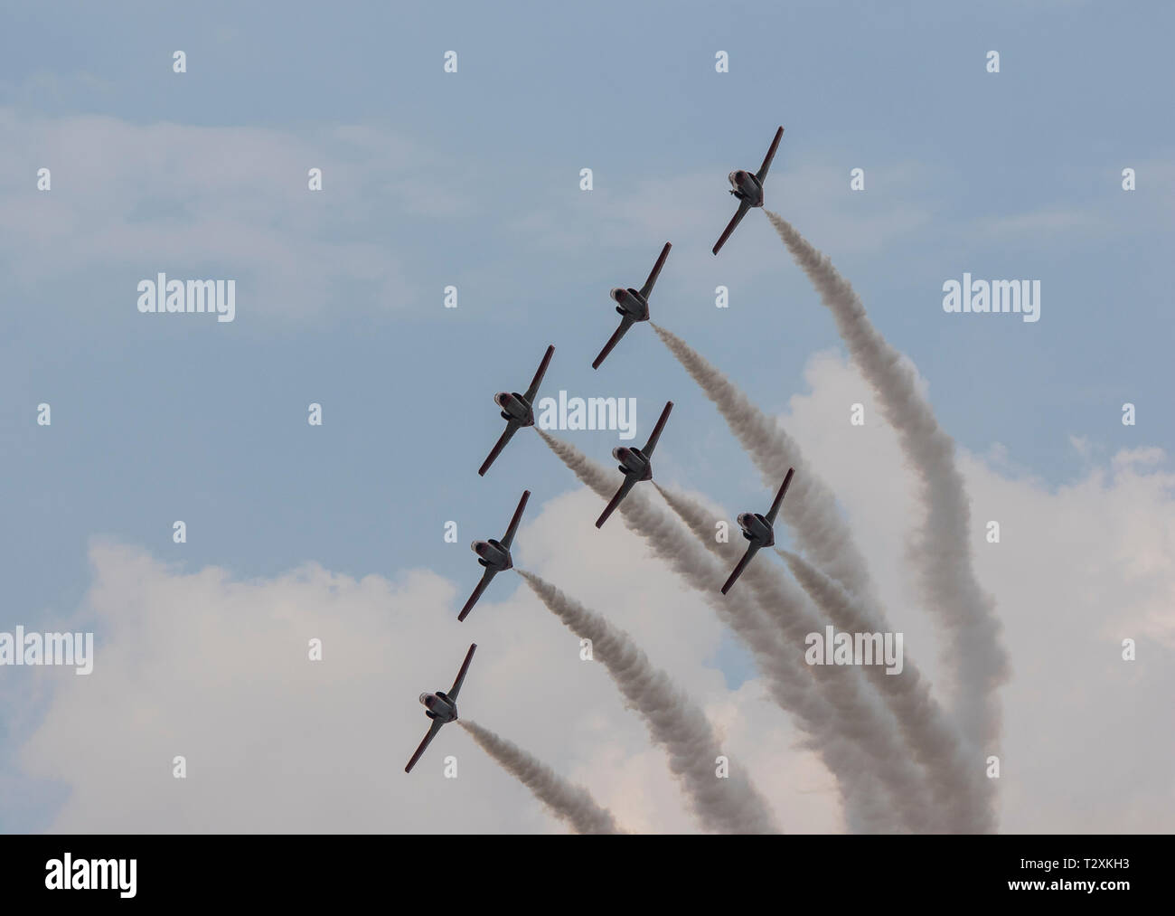 RIAT 2018 Flying display - Stock Image