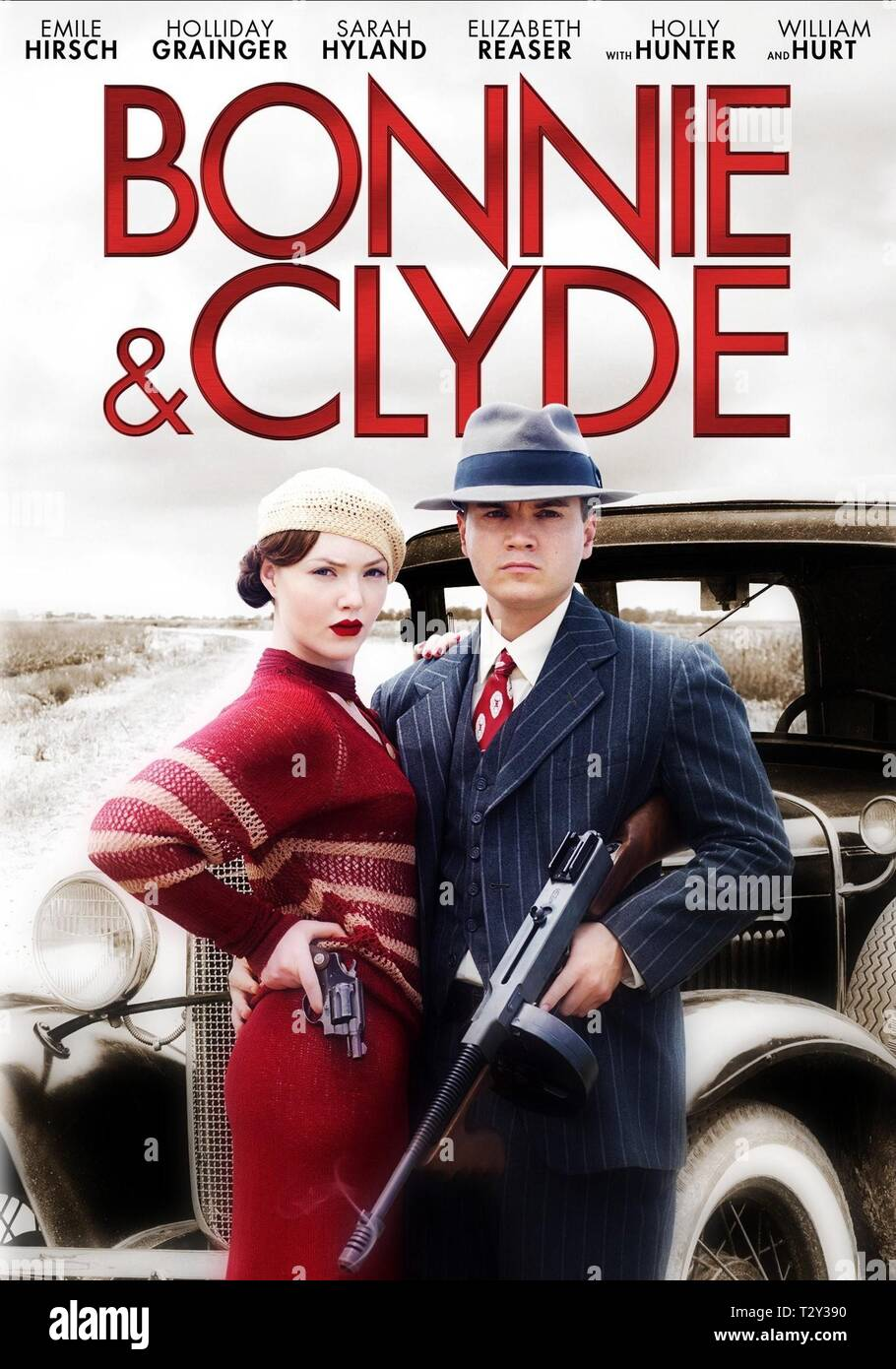 HOLLIDAY GRAINGER, EMILE HIRSCH, BONNIE AND CLYDE, 2013 - Stock Image