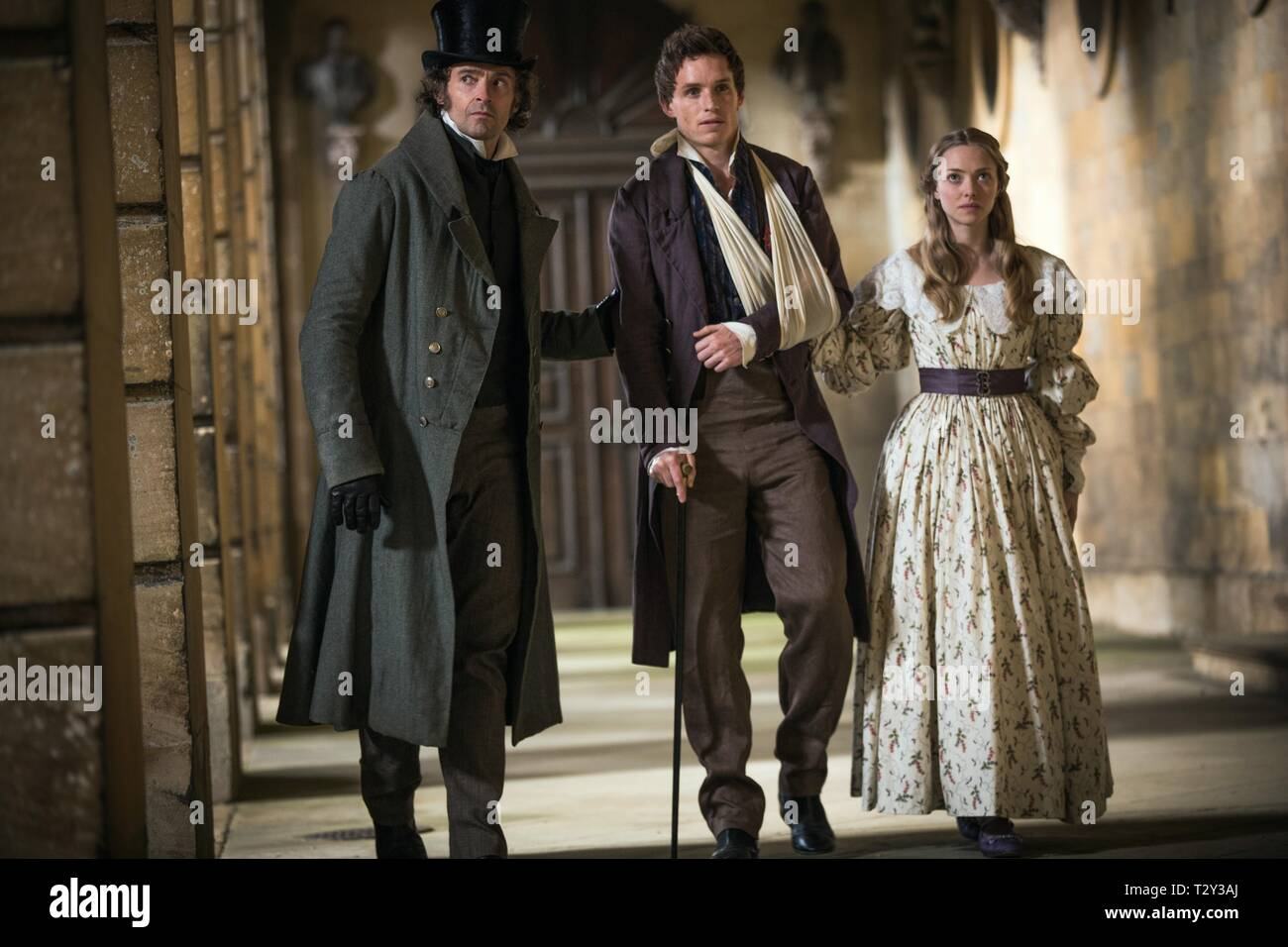 Hugh Jackman Eddie Redmayne Amanda Seyfried Les Miserables 2012 Stock Photo Alamy