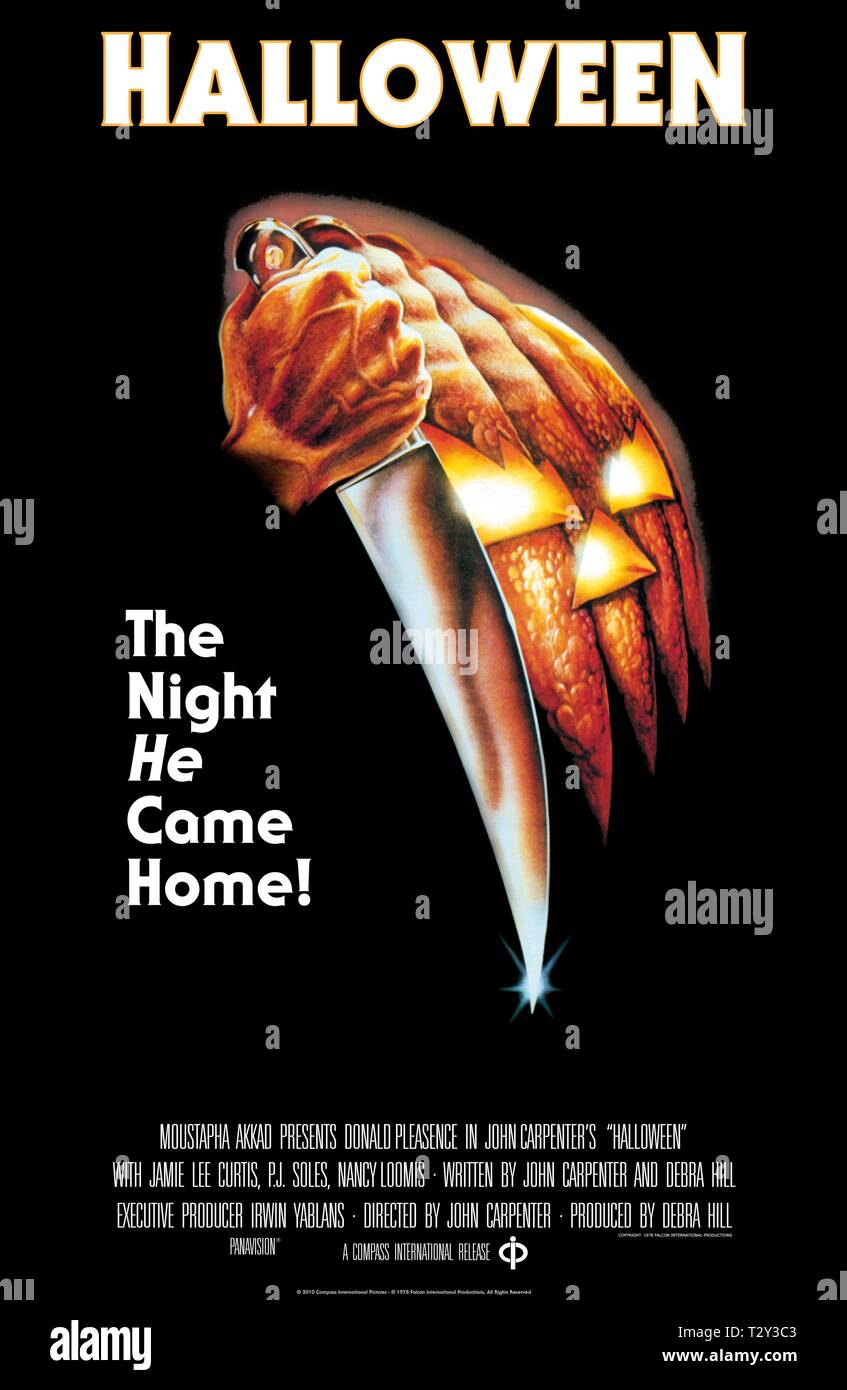 Halloween 1978 Movie Poster.Movie Poster Halloween 1978 Stock Photo 242769859 Alamy