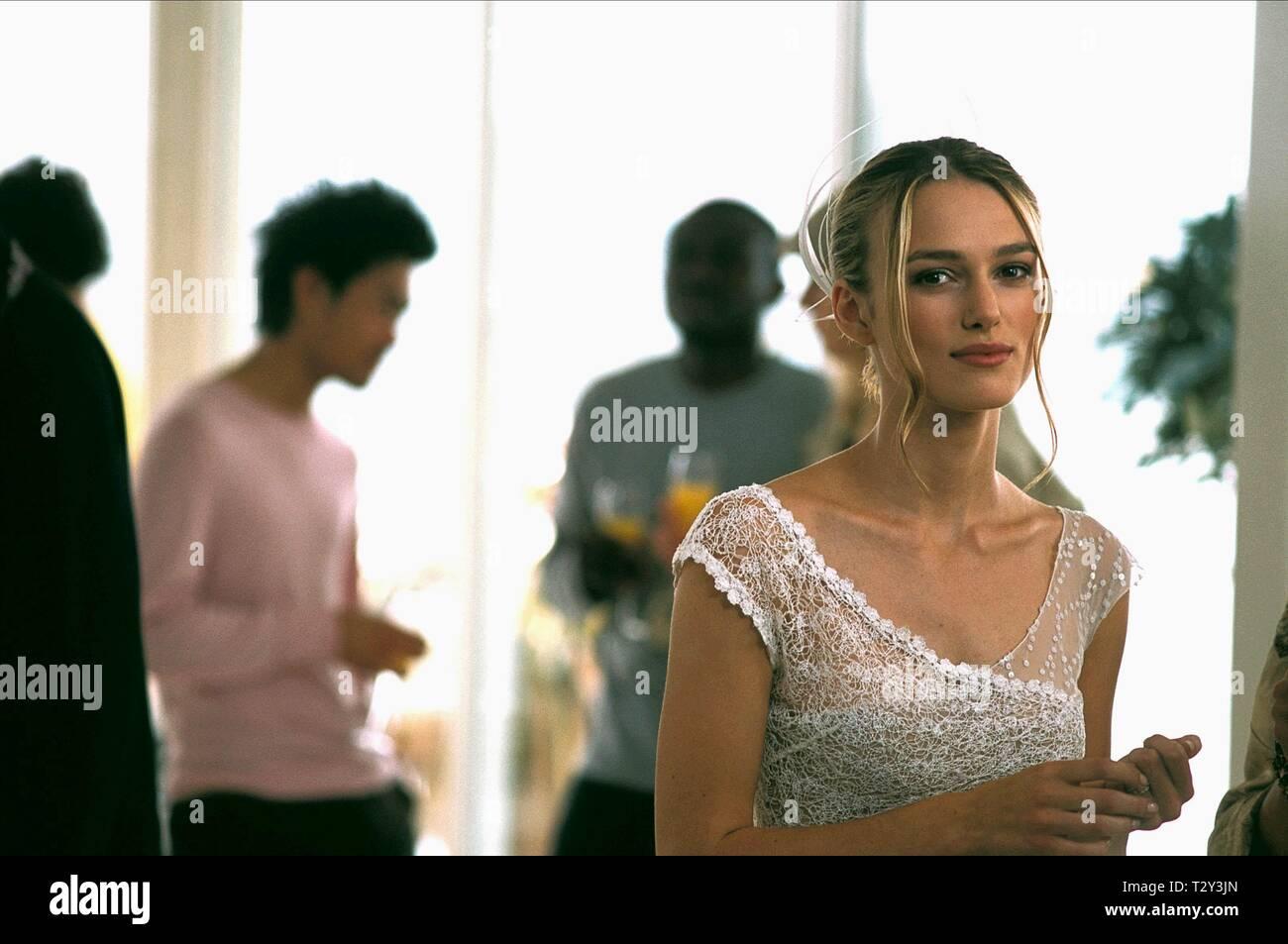 Keira Knightley Love Actually 2003 Stock Photo Alamy