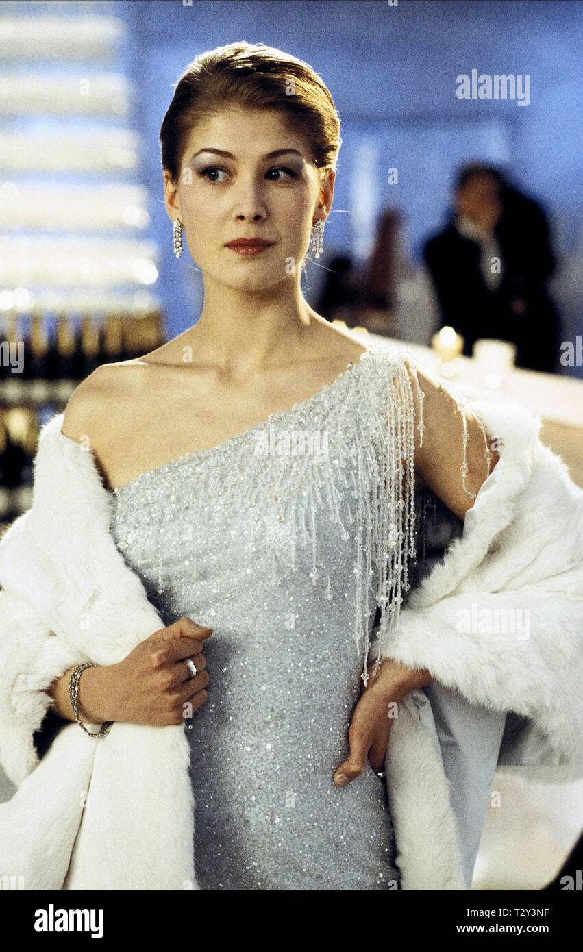ROSAMUND PIKE,  DIE ANOTHER DAY, 2002 - Stock Image