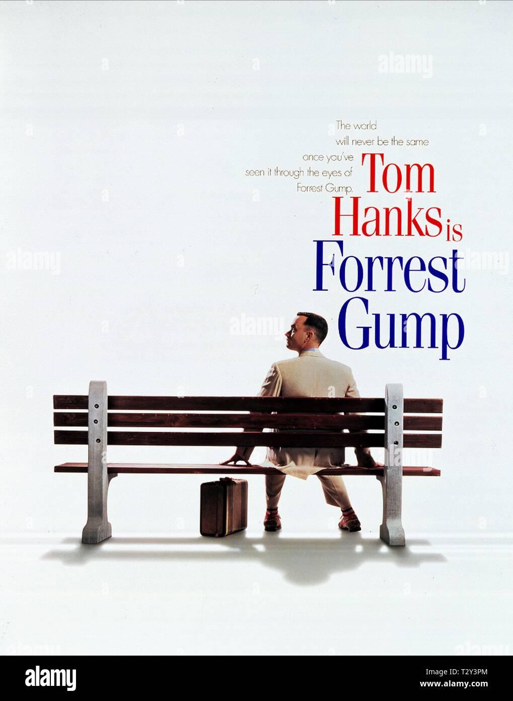 Tom Hanks Forrest Gump 1994 Stock Photo Alamy